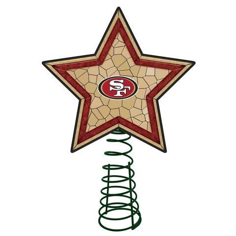San Francisco 49ers Mosaic Tree Topper