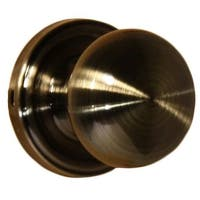 Weslock 600I Impresa Passage Door Knob with Round Rose from the Elegance Collection