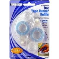 -Dot Tape Runner Refills 2/Pkg