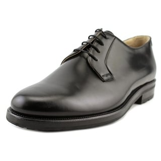 Mr. Hare Bernard Men Round Toe Leather Black Oxford