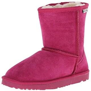 Aussie Merino Girls Bridget Low Kids Suede Youth Casual Boots - 2