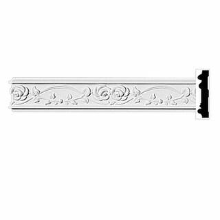 Crown Molding White Urethane 3 1/4â H Hartford Ornate Renovator's Supply