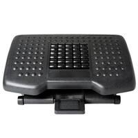 Ivation Adjustable Massage Footrest With Rollers Great for Home, Office Under Desk & More