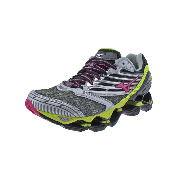 Mizuno Womens Wave Prophecy 5 Running Shoes Mesh Smooth Ride - 7 wide (c,d,w)