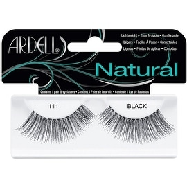 Ardell Natural Fashion Lashes, Black [111] 1 ea