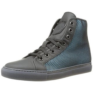 Viktor & Rolf Mens Leather Rubber Net Fashion Sneakers