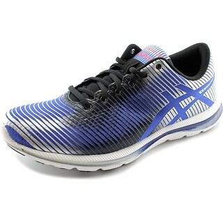 Asics Gel-Super J33 Men Round Toe Synthetic Blue Running Shoe