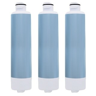 Aqua Fresh Replacement Water Filter f/ Samsung RS25H5111WW / RF323TE Refrigerator Model 3 Pk