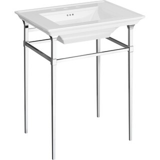 American Standard 8721.000  Town Square S Metal Lavatory Console Legs
