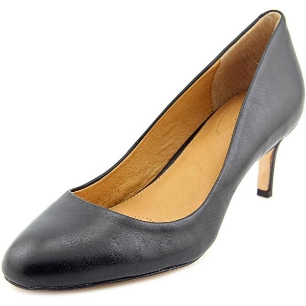 Corso Como Lisbeth Women Round Toe Leather Heels