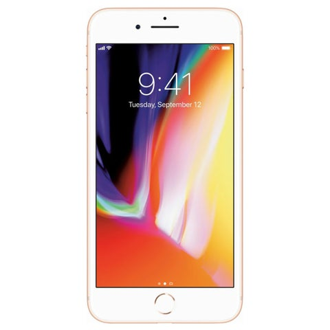 Apple iPhone 8 Plus 64GB Unlocked GSM Phone w/ Dual 12MP Camera (Certified Refurbished)