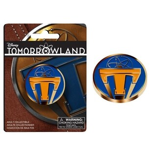 Disney's Tomorrowland Metal Lapel Pin Style 2 - multi