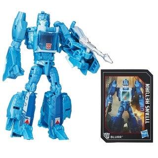 Transformers Generations Titans Return Figure: Hyperfire and Blurr