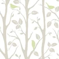 Brewster Sitting In A Tree Peel and Stick Wallpaper Kids Sitting In A Tree Wall Pops Wallpaper