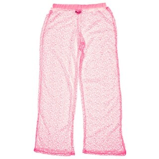 Ingear Crochet Mesh Pull on Pant Cover Up