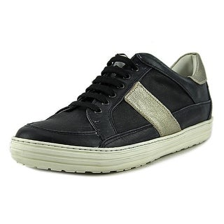 Rebecca K 3325   Round Toe Leather  Sneakers