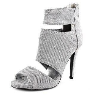 Qupid grammy-94 Open-Toe Synthetic Heels