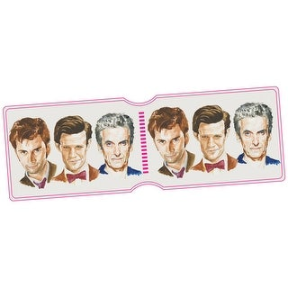 Doctor Who Tenth Eleventh And Twelfth Travel Pass Holder - One Size Fits most