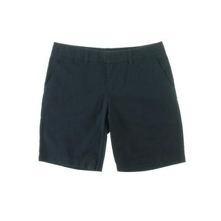 Tommy Hilfiger Womens Twill Flat Front Bermuda, Walking Shorts