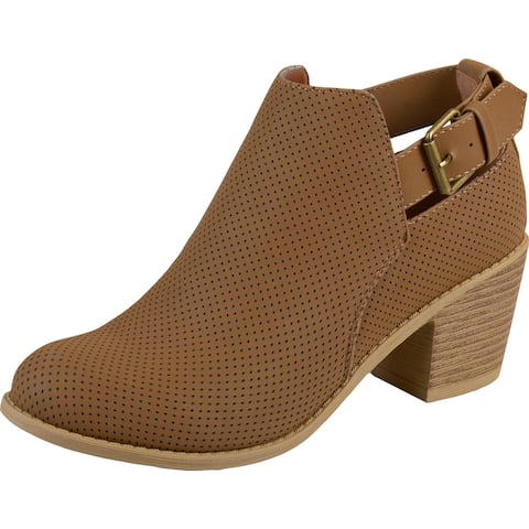 JG Womens Averi Chelsea Boots Round Toe Ankle