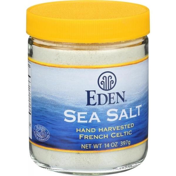 Eden Foods - French Celtic Sea Salt ( 3 - 14 OZ)