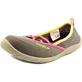 Speedo Beachrunner 3.0 Youth EW Round Toe Synthetic Gray Water Shoe