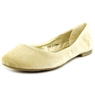 Groove Mistletoe Women Round Toe Canvas Flats