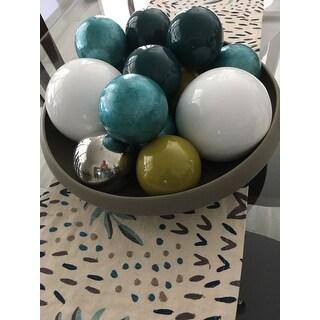 Capiz Design Ball - Set of 6