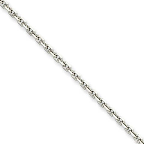 Chisel Stainless Steel 4.30mm 22 Inch Cable Chain (4.3 mm) - 22 in