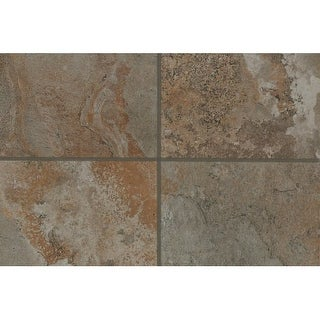 Mohawk Industries 16138 Everest Brown Multi-Surface Tile - 12 Inch X 12 Inch (So - everest brown