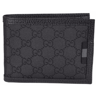 Gucci 217044 Men's Black Nylon GG Web Tab Trifold Passcase ID Wallet|https://ak1.ostkcdn.com/images/products/is/images/direct/2cbad6c37b652c49b8d2c217a79c3bd35c5bc4db/Gucci-217044-Men%27s-Black-Nylon-GG-Web-Tab-Trifold-Passcase-ID-Wallet.jpg?impolicy=medium