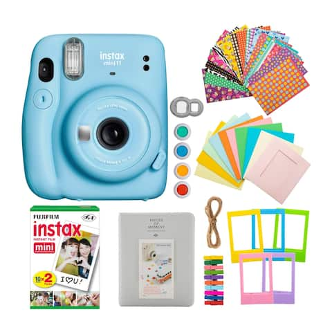 Fujifilm instax Mini 11 Instant Camera with Film Double Pack Bundle