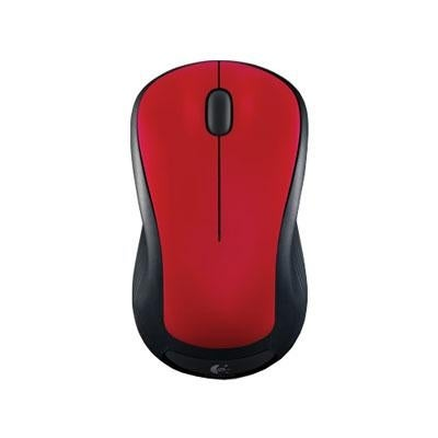 Logitech 910-002486 M310 Wireless Mouse (Glossy Red)