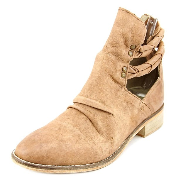 Free People Leather Round-Toe Ankle Boots fashionable for sale sale outlet quality from china cheap ZIbCIbs0