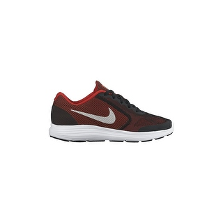 Boy's Nike Revolution 3 Wide (GS) Running Shoe Red/Black/White/