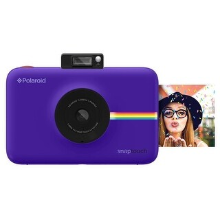 Polaroid Snap Touch Instant Print Digital Camera With LCD Display with Zink Zero Ink Printing Technology