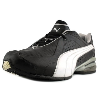 Puma Cell Trice  Men  Round Toe Canvas Black Sneakers
