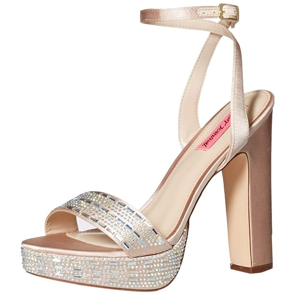 315518c42a99 Gold Betsey Johnson Shoes