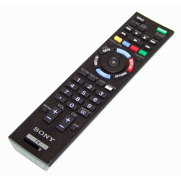 NEW OEM Sony Remote Control Specifically For: KDL70W857B, KDL-70W857B - N/A
