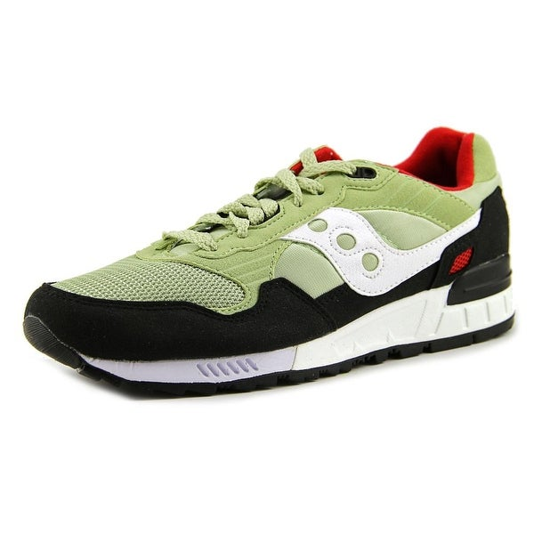aea876e4624b Shop Saucony Shadow 5000 Men Round Toe Synthetic Green Running Shoe ...