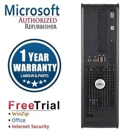 Refurbished Dell OptiPlex 760 SFF Intel Core 2 Duo E7400 2.8G 4G DDR2 160G DVD Win 10 Home 1 Year Warranty