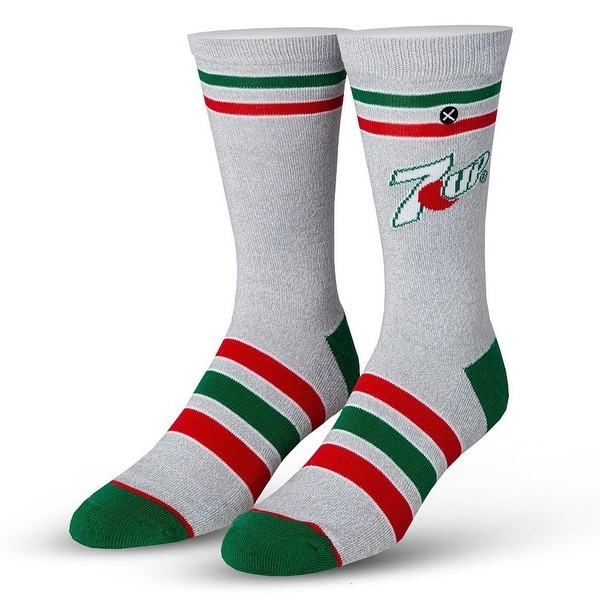 7 Up Heather Knit Socks, 6-13