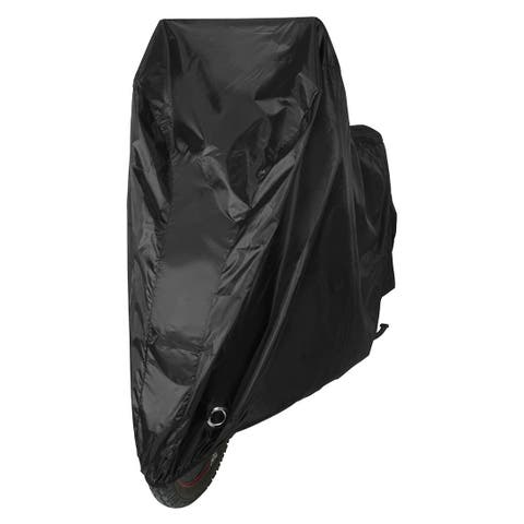 Outdoor Bike Bicycle Rain Dust Cover Water Resistant Garage Scooter Protector