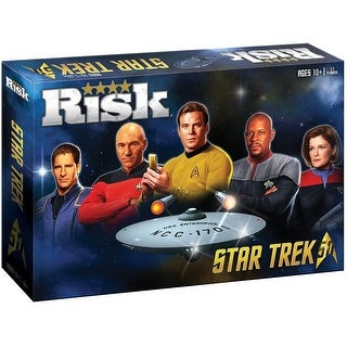 Star Trek 50th Anniversary RISK Board Game