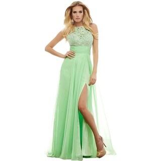 Mac Duggal Womens Chiffon Prom Formal Dress - 4