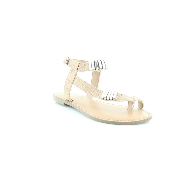 Bar III Verna Women's Sandals & Flip Flops Beige - 5