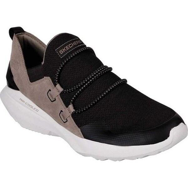 0de5100fa19f Shop Skechers Men s Back Slash Slip-On Sneaker Black - On Sale ...