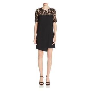 Karen Kane Womens Wrap Dress Lace Yoke & Sleeve Short Sleeve (3 options available)