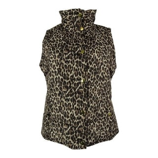 Style & Co. Women's Animal Print Vest