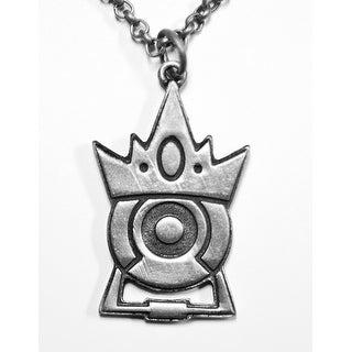 Portal 2 Silver Stalemate Pendant Necklace